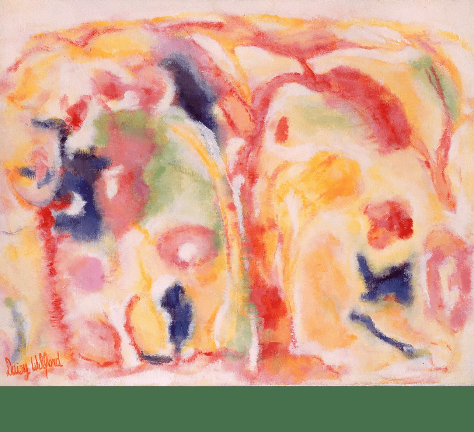 Paysage avec couleur (1986-1987)