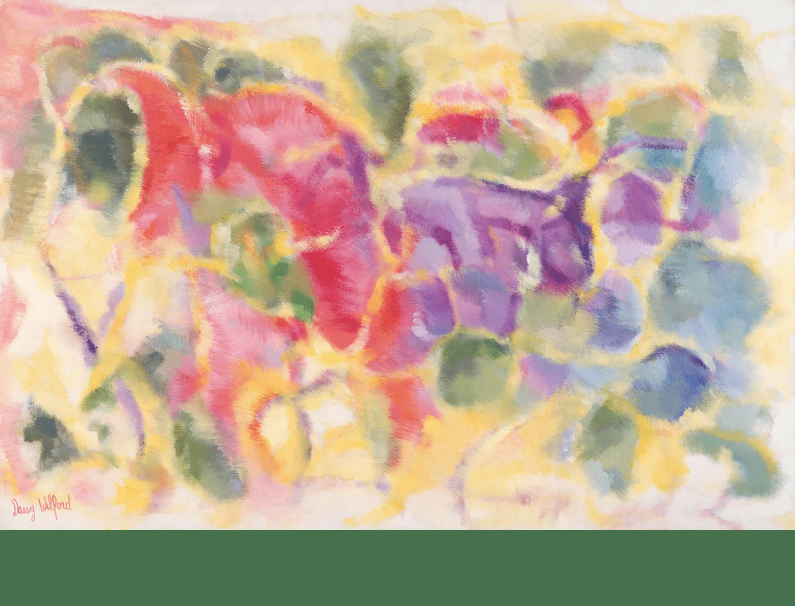 Peinture dans un paysage (1987-1988)