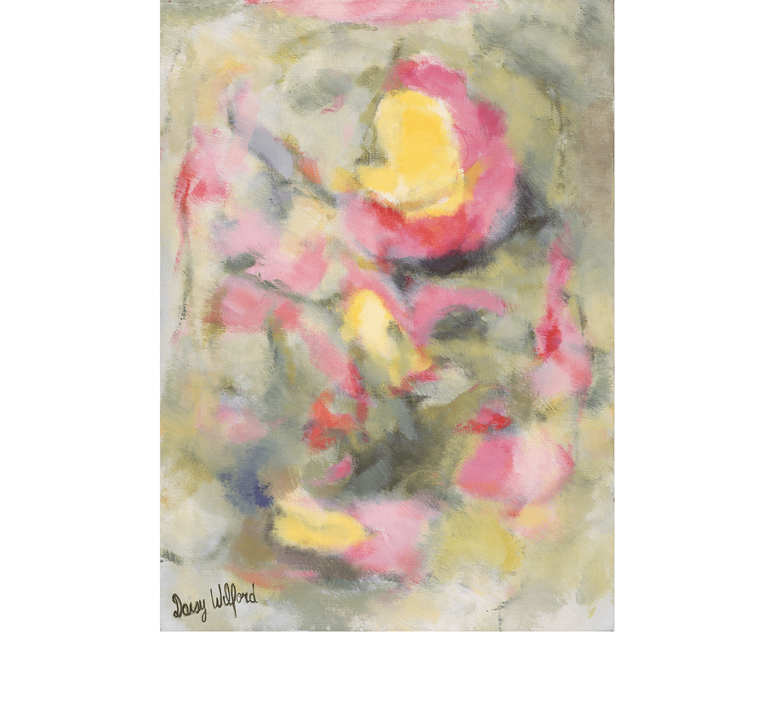 Abstraction florale (1986-1987)
